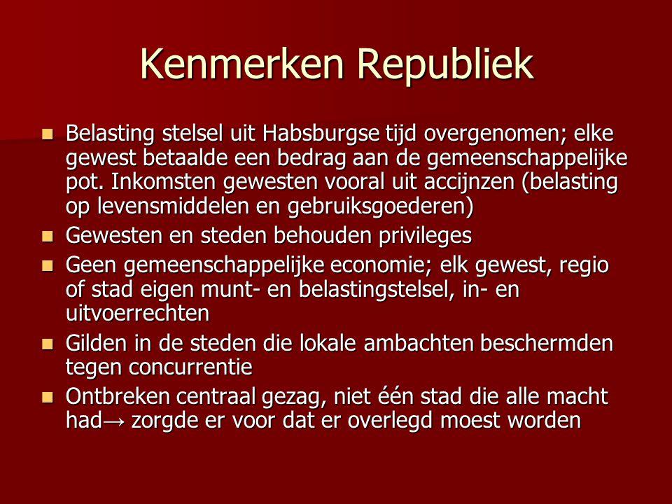 Kenmerken Republiek