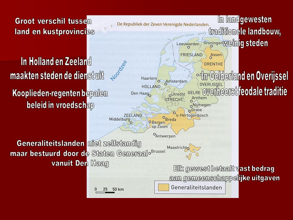 land en kustprovincies