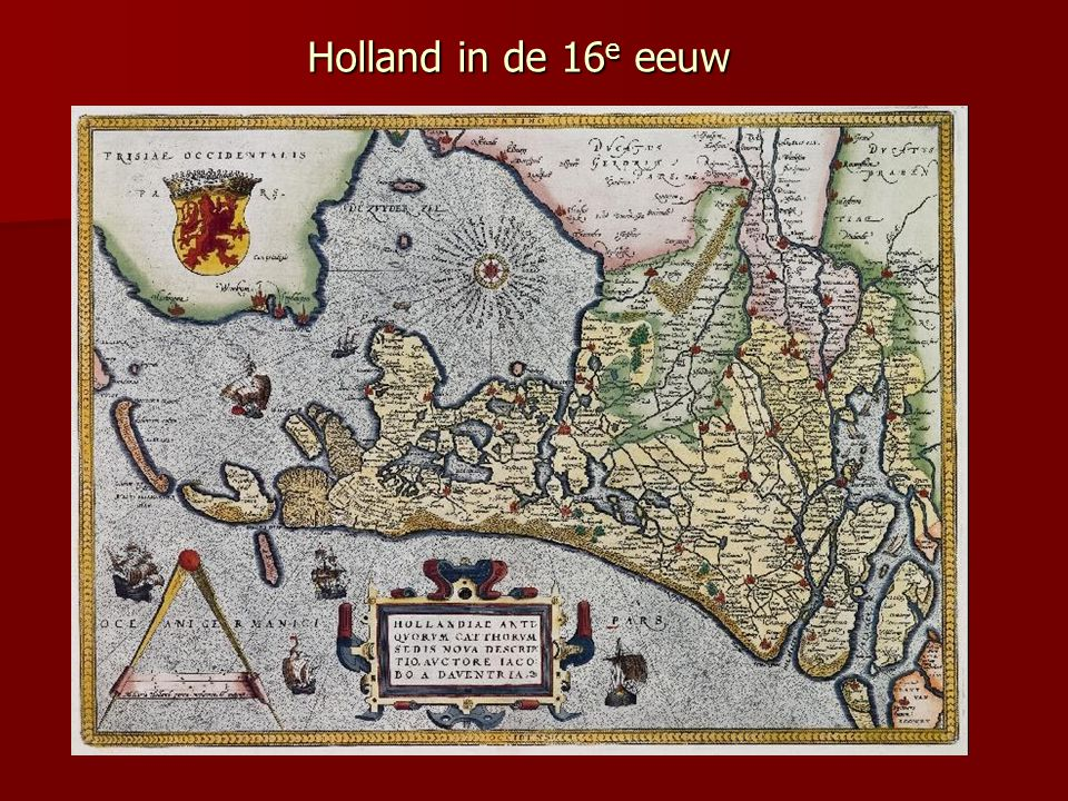 Holland in de 16e eeuw