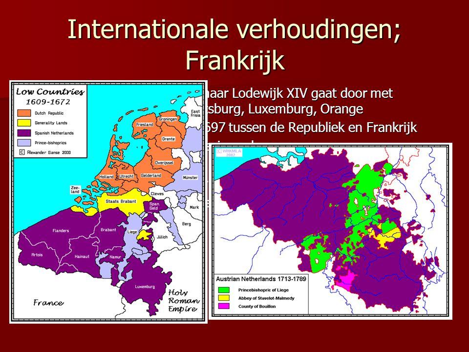 Internationale verhoudingen; Frankrijk