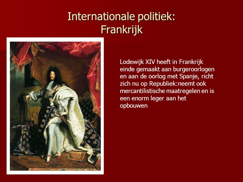 Internationale politiek: Frankrijk