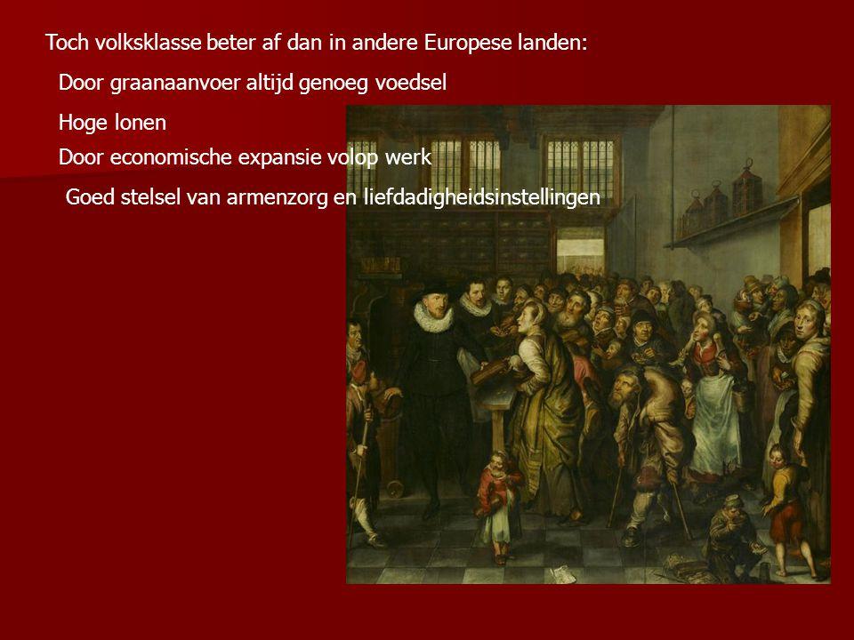 Toch volksklasse beter af dan in andere Europese landen:
