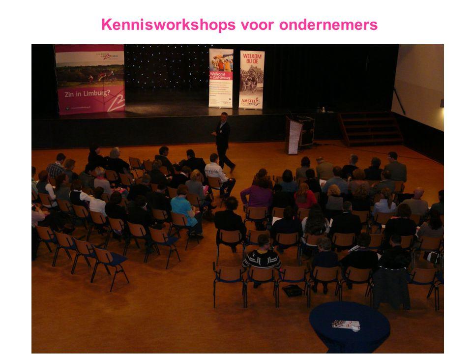 Kennisworkshops voor ondernemers