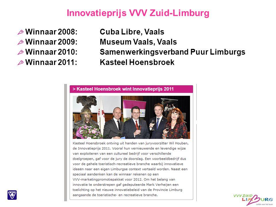 Innovatieprijs VVV Zuid-Limburg