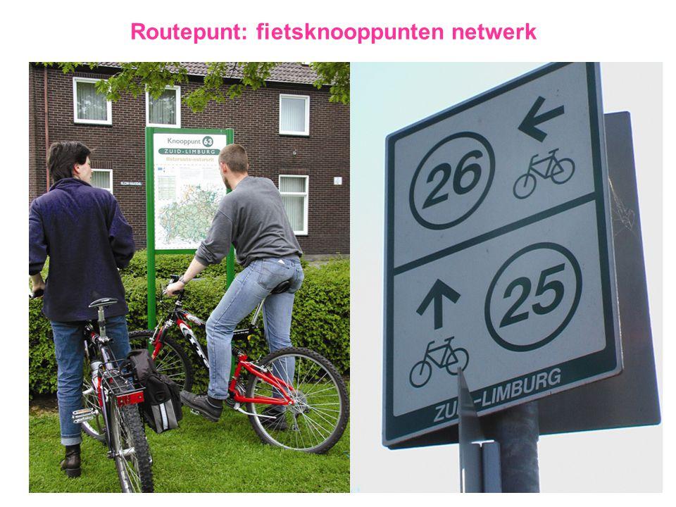 Routepunt: fietsknooppunten netwerk