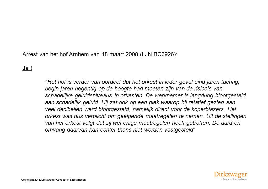 Arrest van het hof Arnhem van 18 maart 2008 (LJN BC6926):