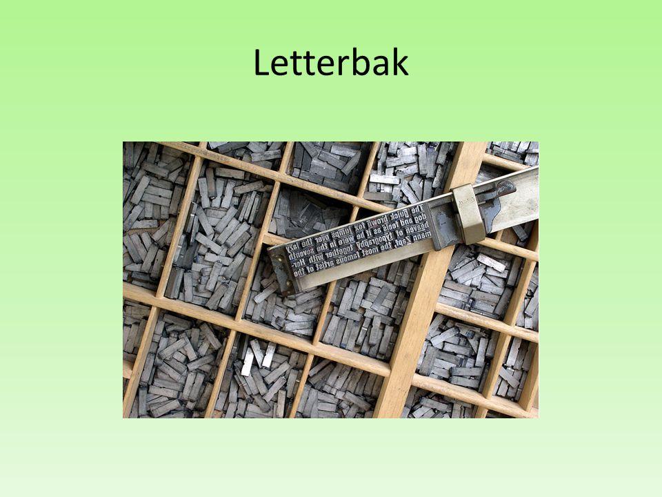 Letterbak