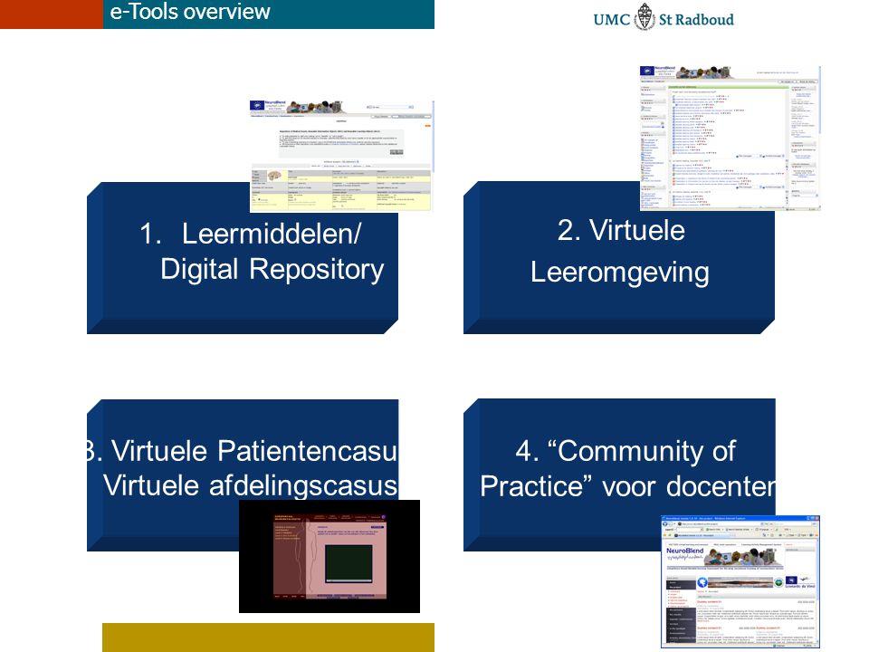 Leermiddelen/ Digital Repository