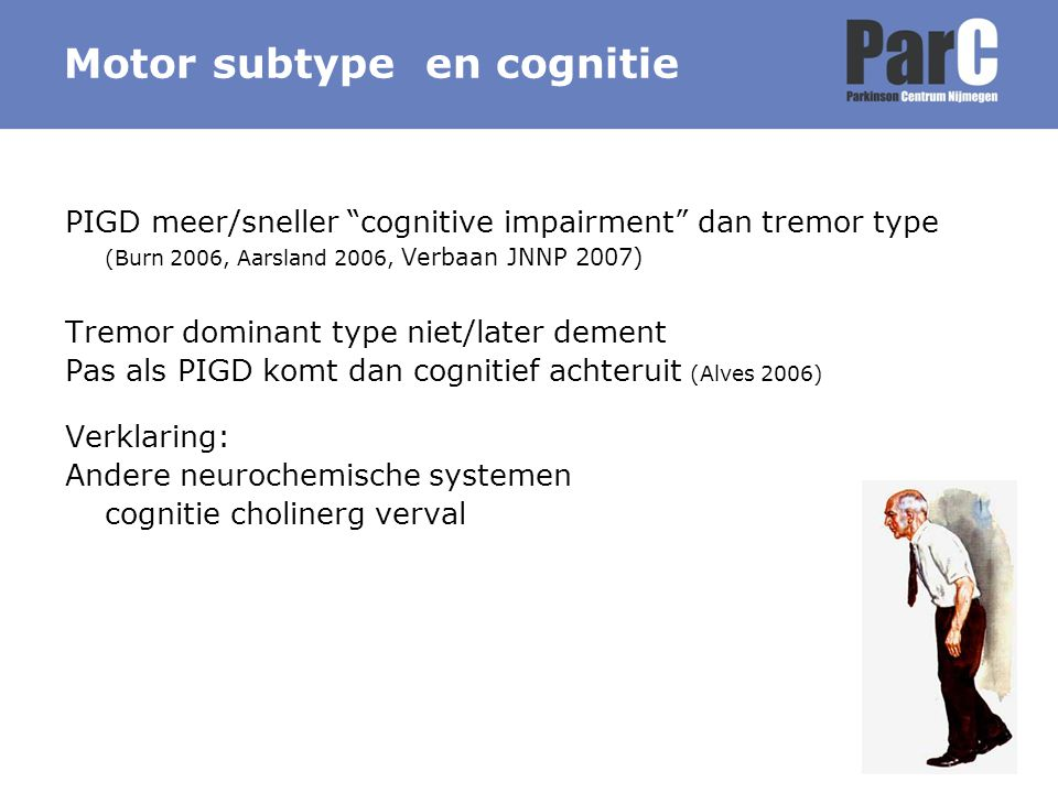 Motor subtype en cognitie