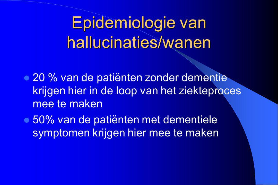 Epidemiologie van hallucinaties/wanen