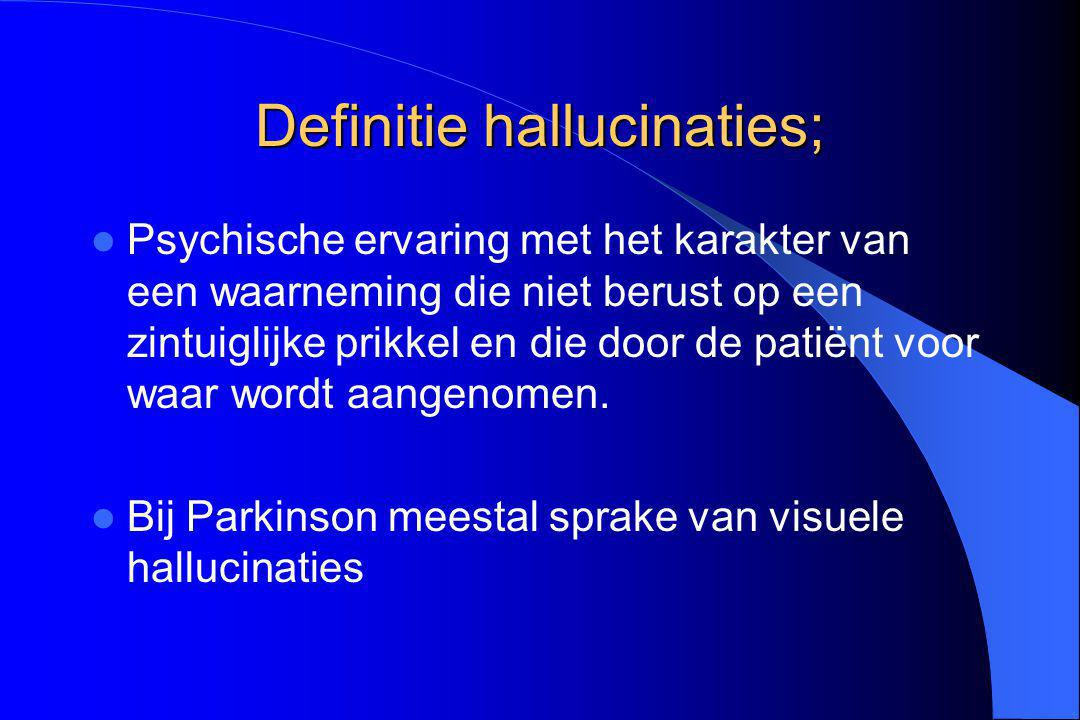 Definitie hallucinaties;