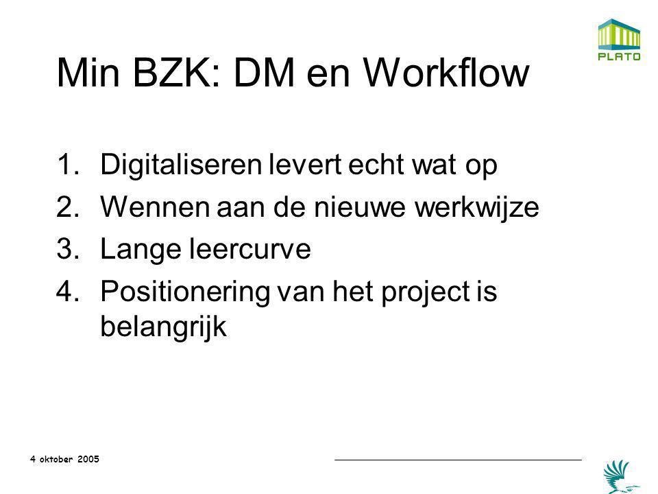 Min BZK: DM en Workflow Digitaliseren levert echt wat op