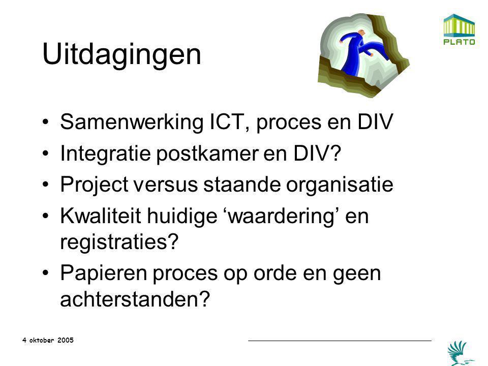 Uitdagingen Samenwerking ICT, proces en DIV