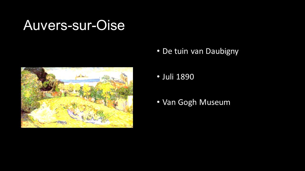 Auvers-sur-Oise De tuin van Daubigny Juli 1890 Van Gogh Museum