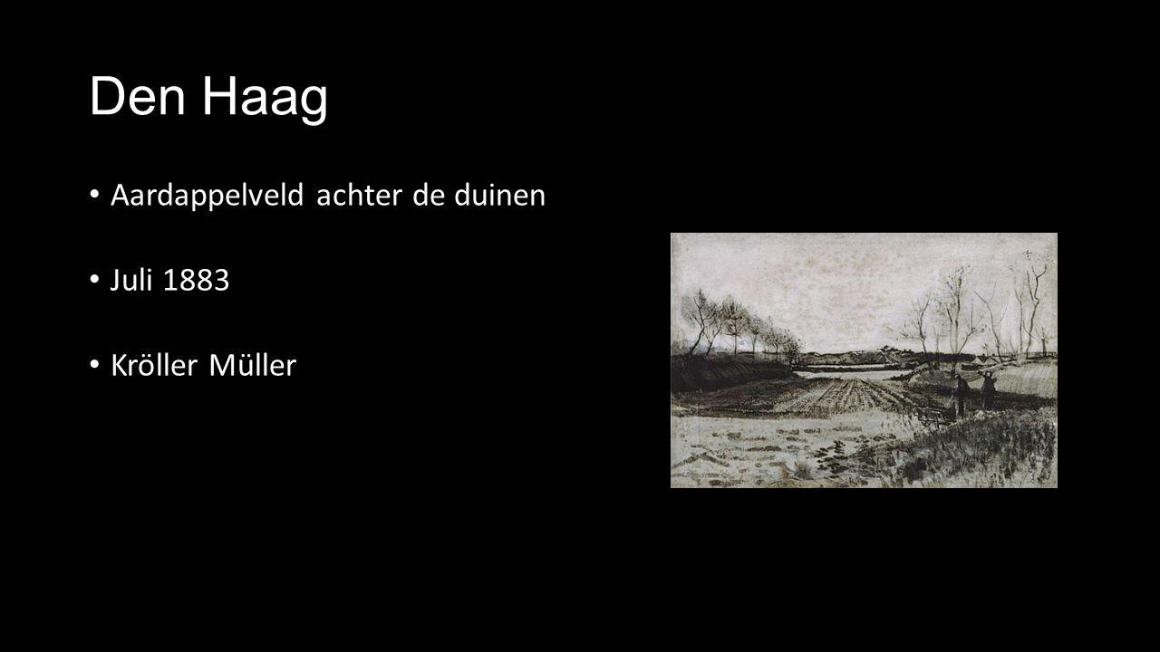 Den Haag Aardappelveld achter de duinen Juli 1883 Kröller Müller