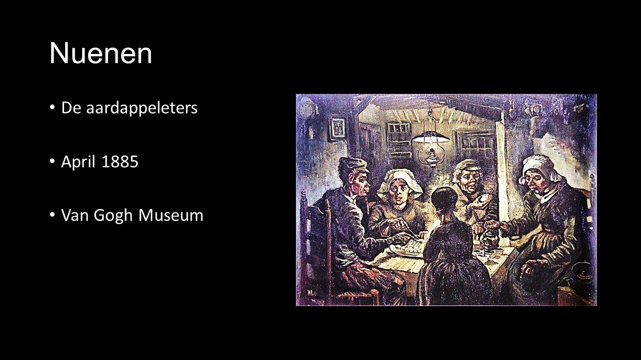 Nuenen De aardappeleters April 1885 Van Gogh Museum