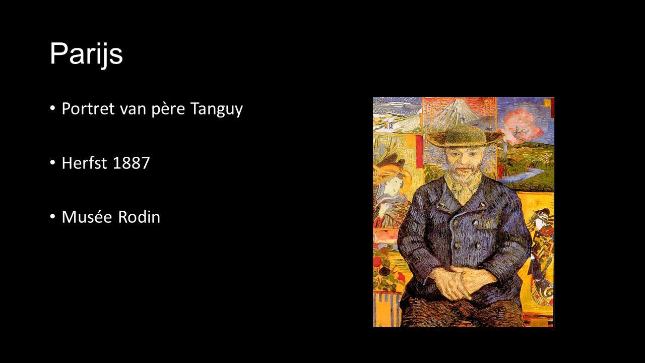Parijs Portret van père Tanguy Herfst 1887 Musée Rodin