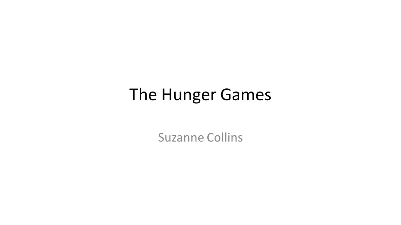 comparing veronica roths divergent and suzanne collins the hunger games The hunger games 1 by suzanne collins divergent: allegiant 3 by veronica roth (2013  (the hunger games book 1) by suzanne collins hardcover like new.