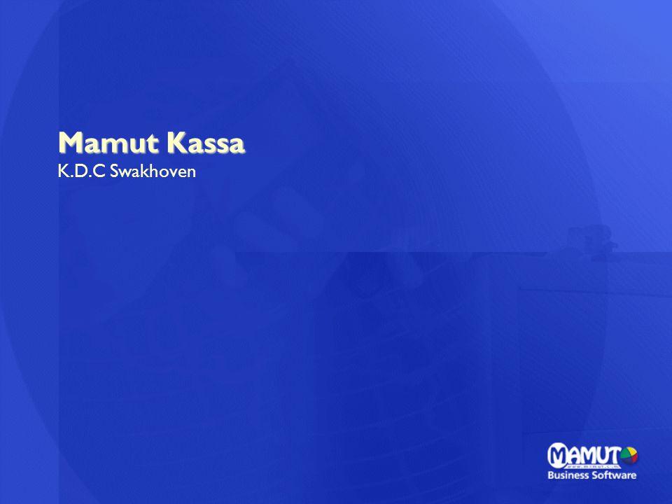 Mamut Kassa K.D.C Swakhoven