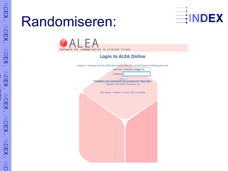 Randomiseren: