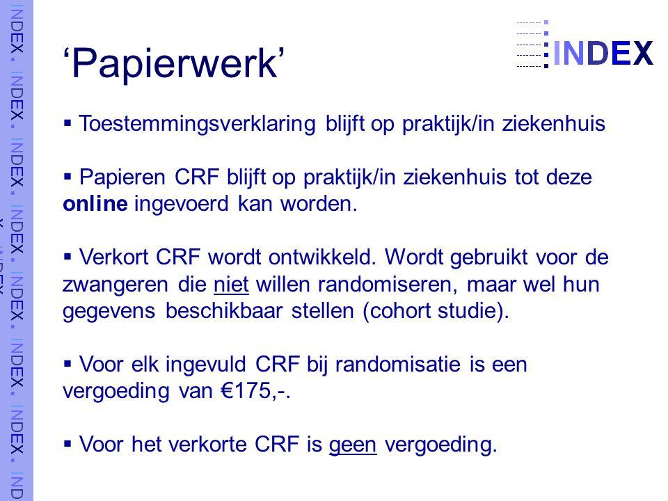'Papierwerk' Toestemmingsverklaring blijft op praktijk/in ziekenhuis