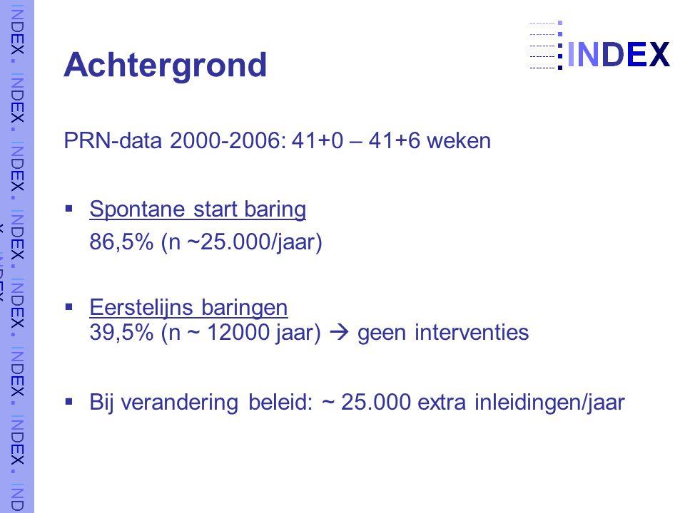 Achtergrond PRN-data 2000-2006: 41+0 – 41+6 weken