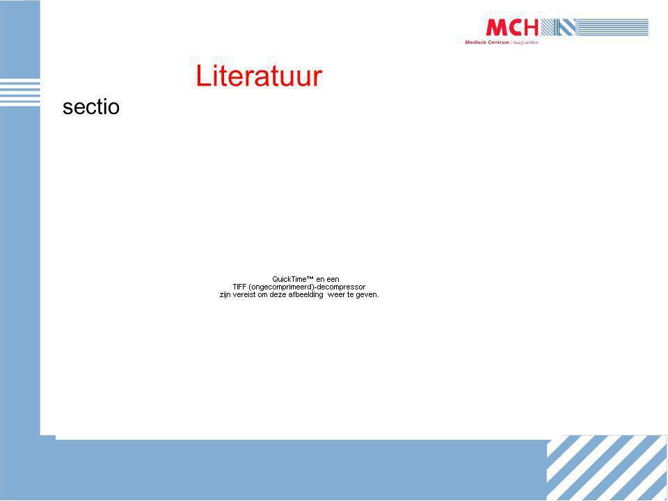 Literatuur sectio