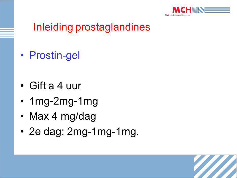 Inleiding prostaglandines