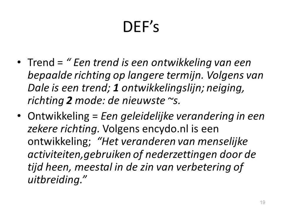 DEF's
