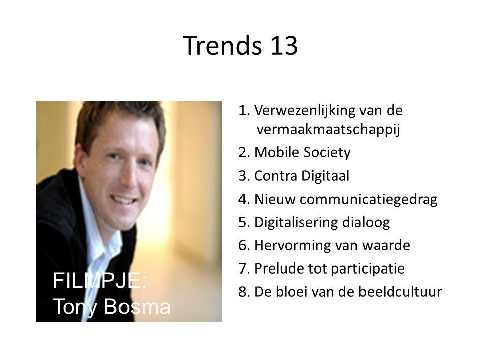 Trends 13 FILMPJE: Tony Bosma