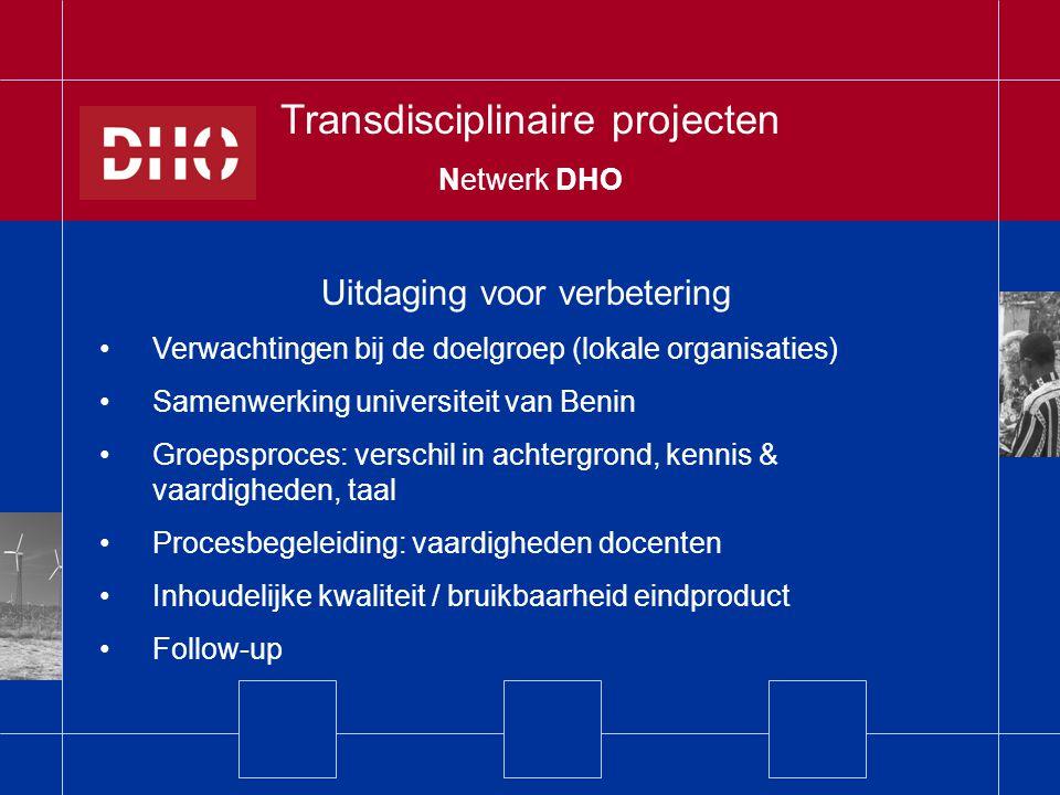Transdisciplinaire projecten