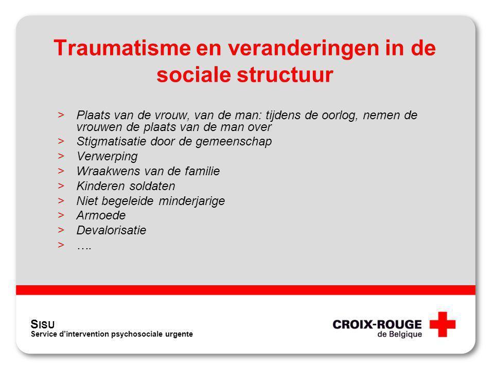 Traumatisme en veranderingen in de sociale structuur