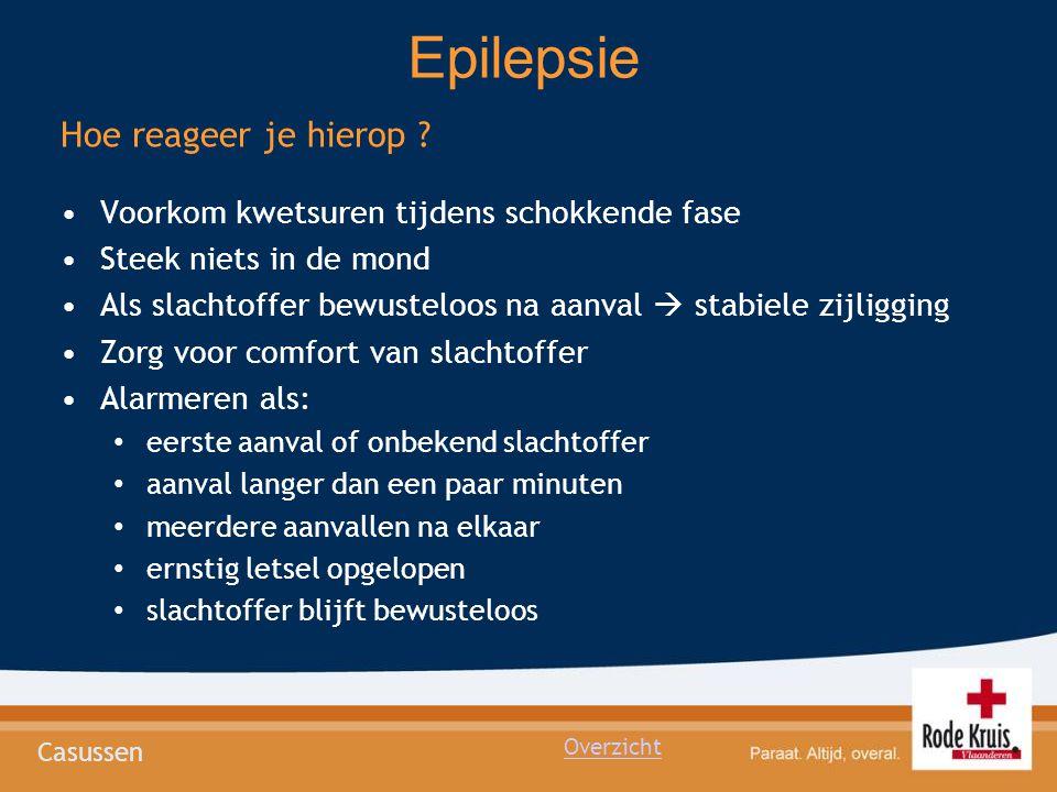 Epilepsie Hoe reageer je hierop