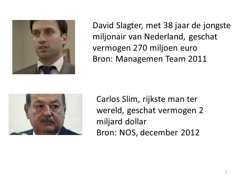 David Slagter, met 38 jaar de jongste miljonair van Nederland, geschat vermogen 270 miljoen euro