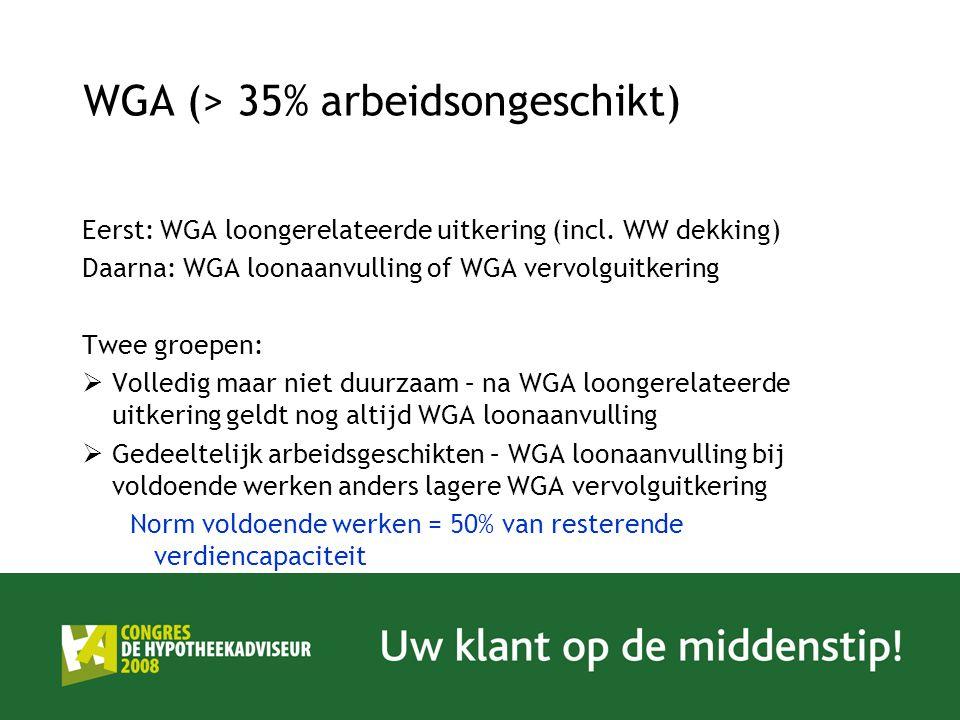 WGA (> 35% arbeidsongeschikt)