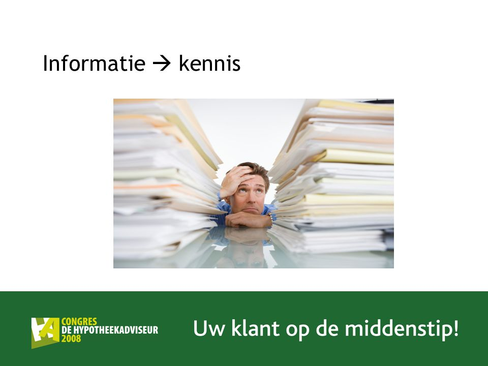 Informatie  kennis