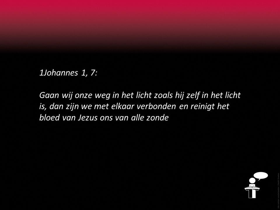 1Johannes 1, 7: