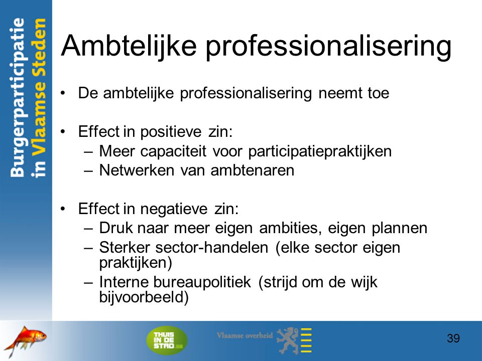Ambtelijke professionalisering