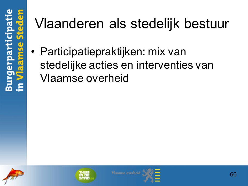 Vlaanderen als stedelijk bestuur
