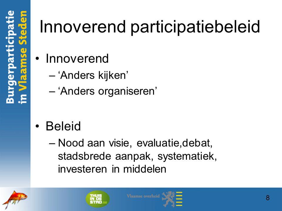 Innoverend participatiebeleid