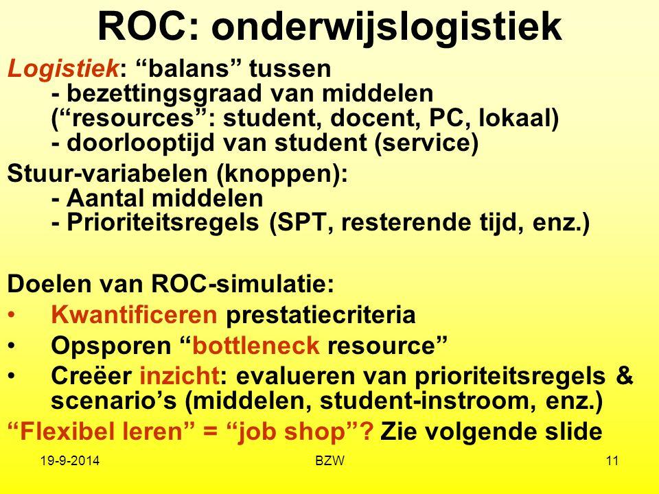 ROC: onderwijslogistiek