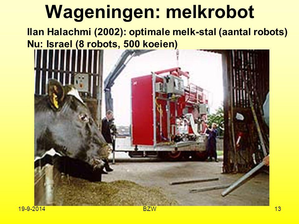Wageningen: melkrobot