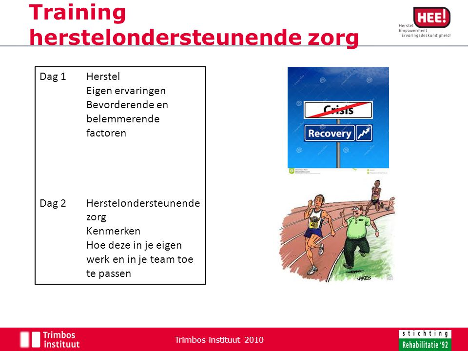 Training herstelondersteunende zorg