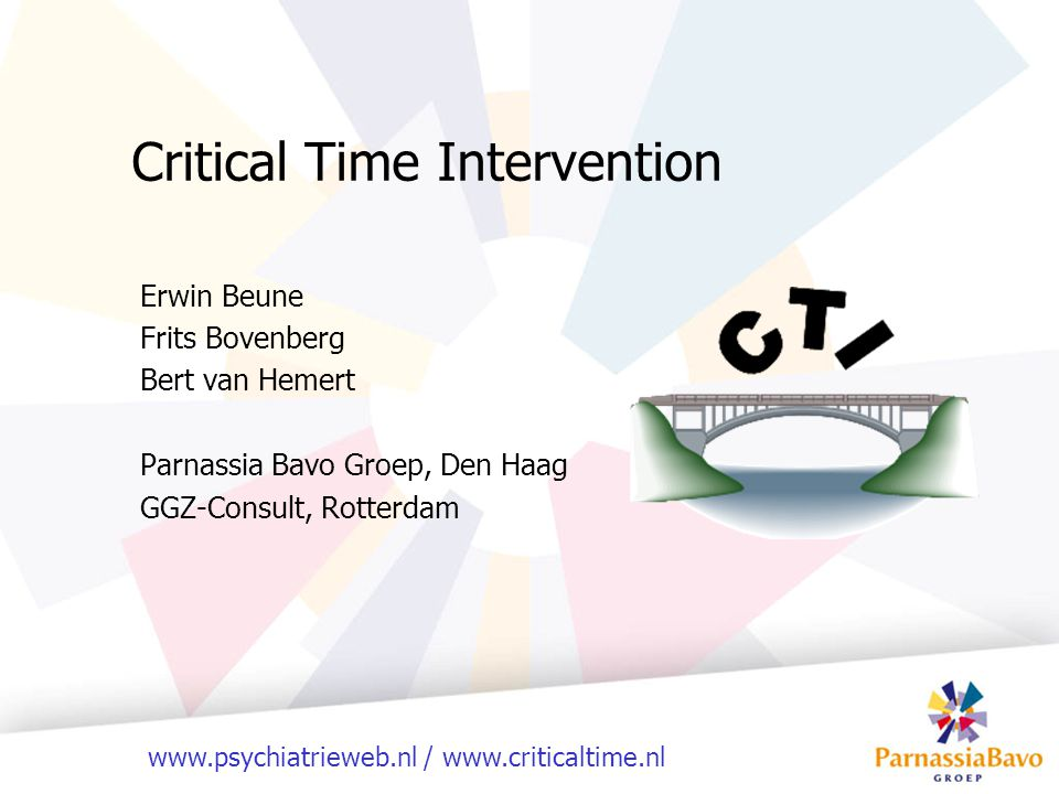 Critical Time Intervention