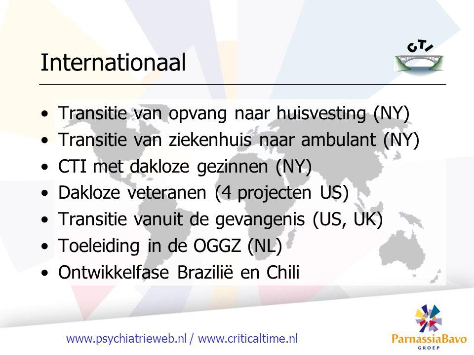 Internationaal Transitie van opvang naar huisvesting (NY)