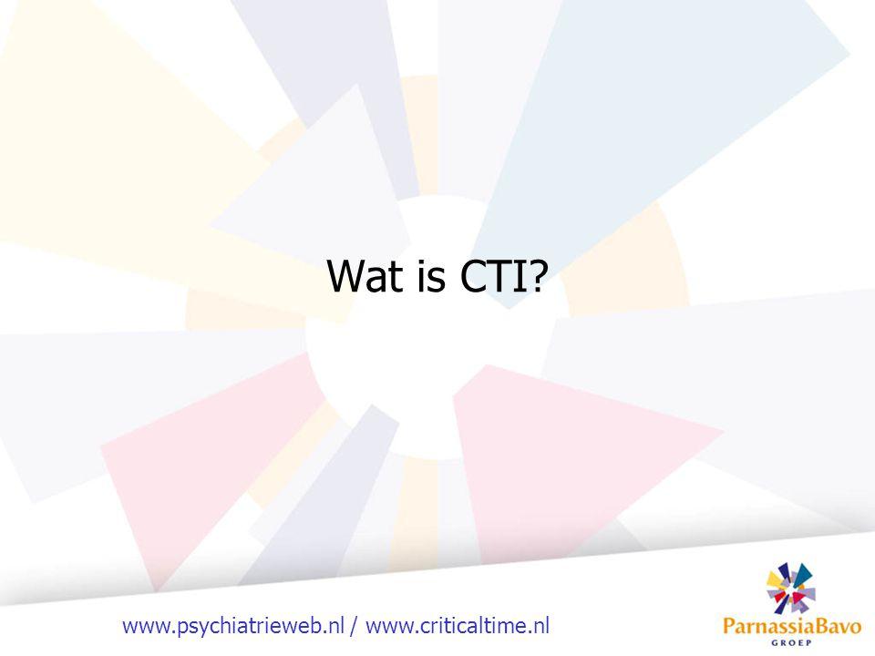 Wat is CTI