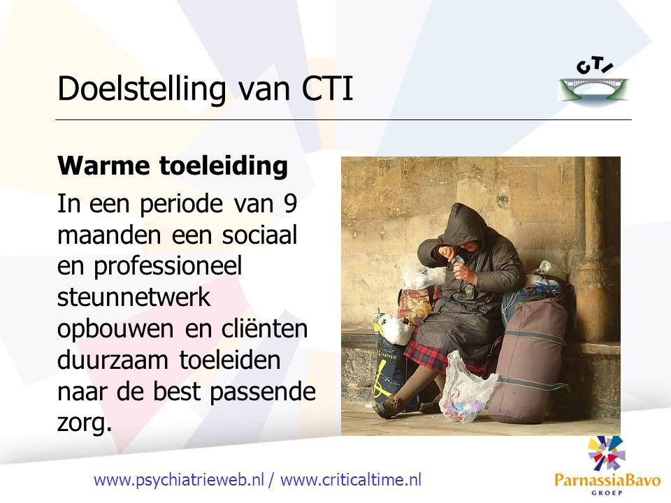 Doelstelling van CTI