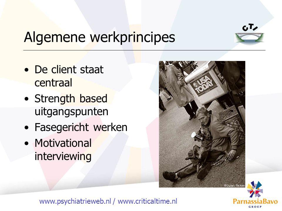 Algemene werkprincipes