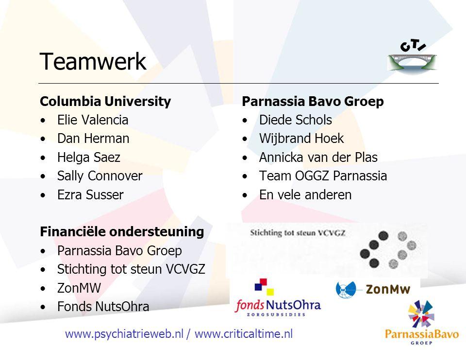 Teamwerk Columbia University Elie Valencia Dan Herman Helga Saez