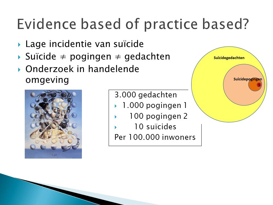 Evidence based of practice based